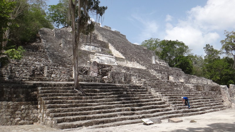 Structure 2 - One of the largest Mayan Pyramid