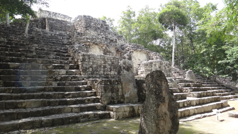 Structure 4 in the Gran Plaza