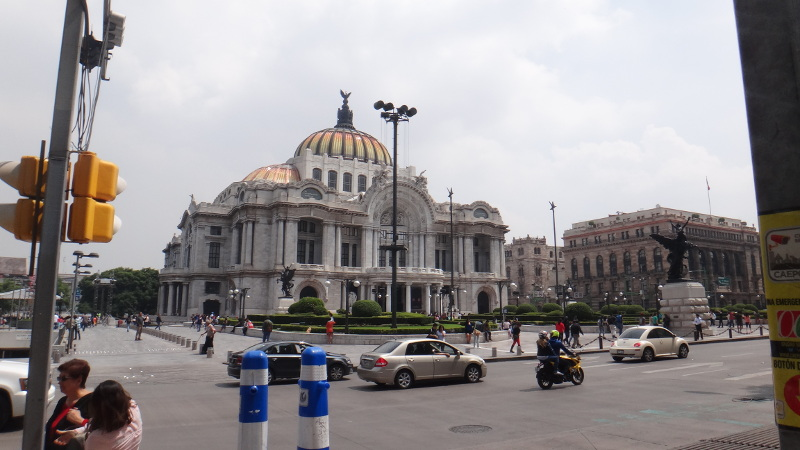 The Palacio de Bella Artes