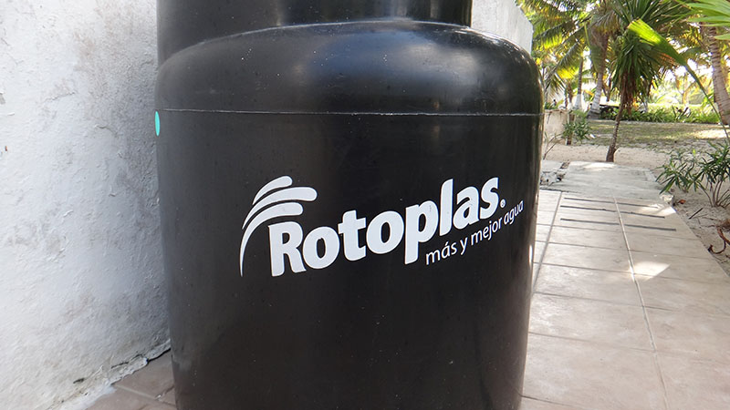 250 l Rotoplas for grey water